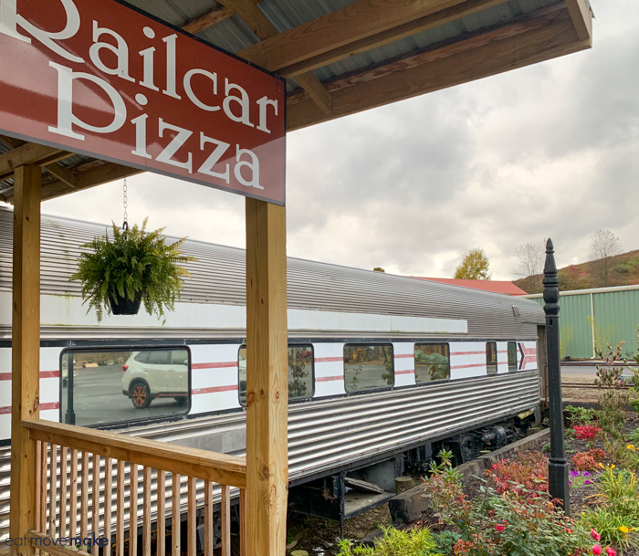 Railcar Pizza