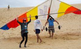 hang gliding at Jockey's Ridge OBX