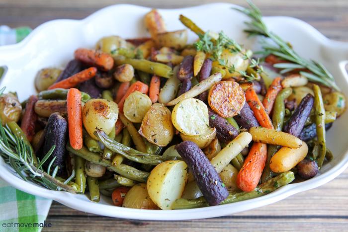 roasted veggies in bowl