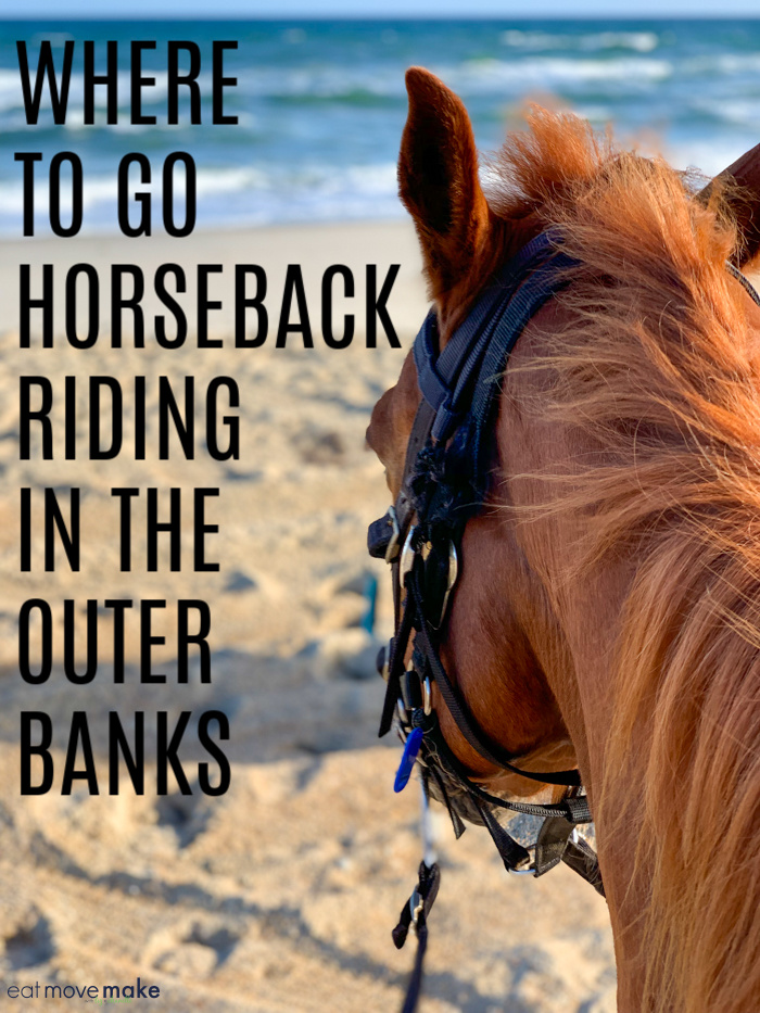 where to go horseback riding on the beach in the outer banks