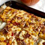 pumpkin pizza slices